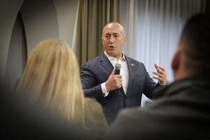 Haradinaj to seek unification with Albania ''in case international approach to Kosovo does not change''